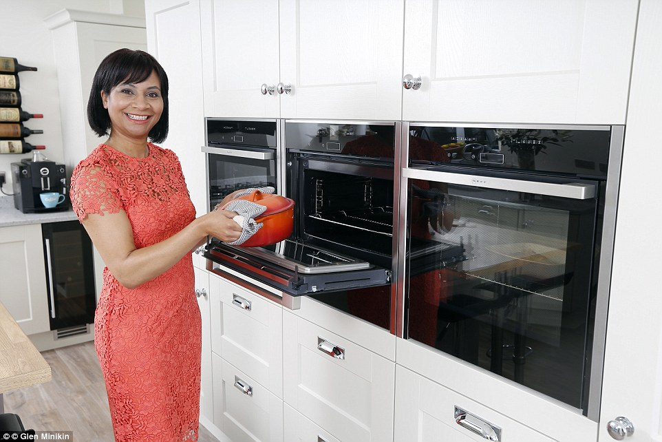 kitchen ovens top rated faucets latest craze is having four wall mounted daily mail nicky midgley s swish neff have become the envy of her friends in