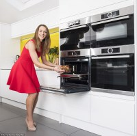 Latest kitchen craze is having four wall-mounted ovens ...