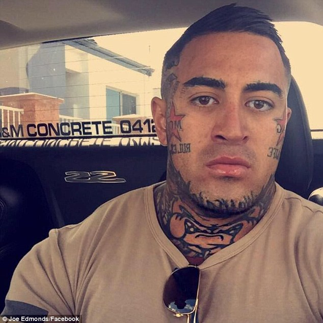 One of the gang members to be deported was senior leader Joe Edmonds who was caught at Perth Airport in 2017 trying to bring gang uniforms into Western Australia