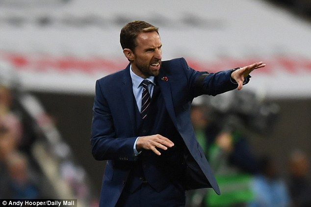 England boss Gareth Southgate is forming an idea of how his team will look at the World Cup