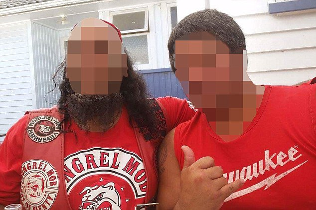 The Mongrel Mob has dominated New Zealand's criminal scene since they sprouted up in 1962, with its members often distinguishing themselves with facial tattoos and wearing red