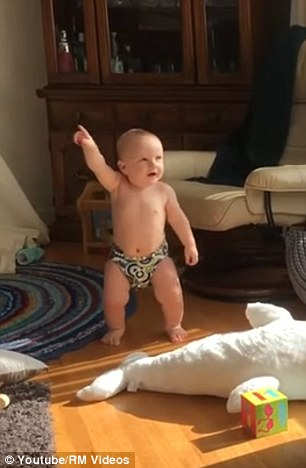 adorable moment when diaper