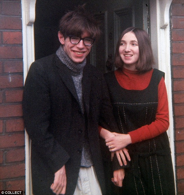 Jane and Stephen in the mis-1960s, shortly after his diagnosis with motor neurone disease and being given two years to live