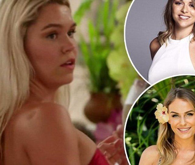 Rumours Bachelor In Paradise Contestant Falls Pregnant Daily Mail Online The Daily Braille
