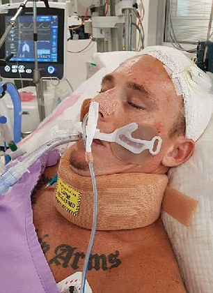 He has defied the odds and awoken from his first coma, two weeks after doctors declared 'he may die'