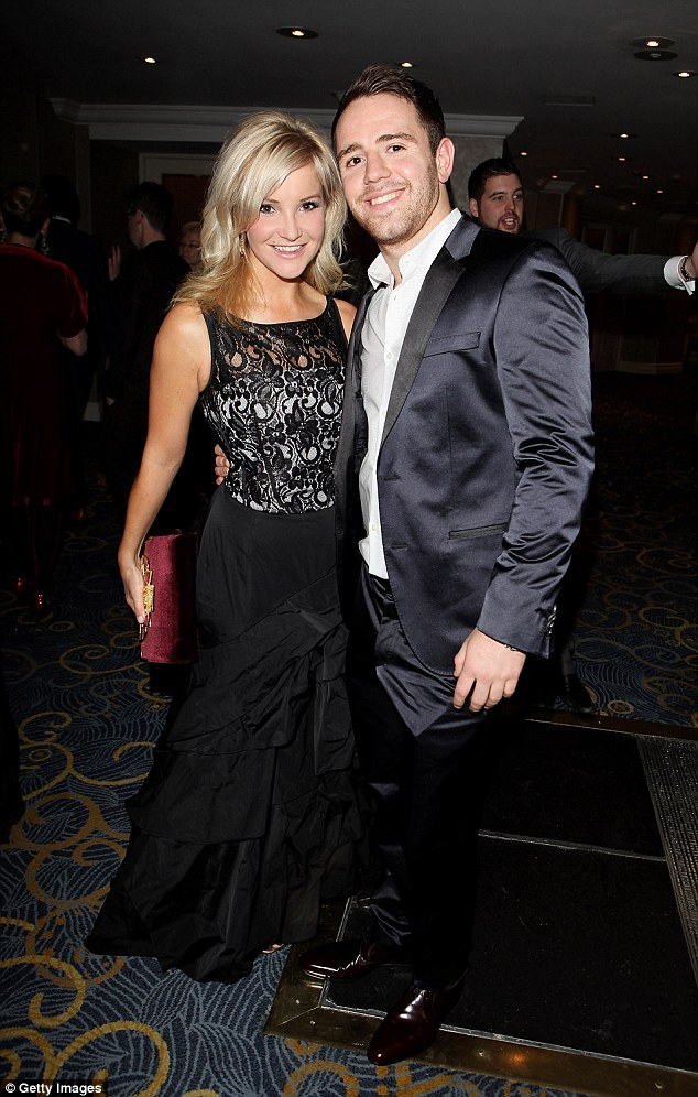Ms Skelton, pictured here with her husband Richie Myler, and who stars in BBC1's Countryfile and fronts the BBC's swimming coverage, said the incident happened during a sporting event in 2015
