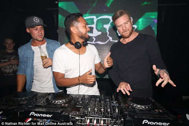 Showing him how it's done? Dean appeared to offer some advice to Empire's dashing DJ