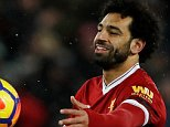 Mo Salah is on course for record 35 Premier League goals this season