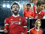 Liverpool's Mo Salah proving himself to be the new king of the Kop