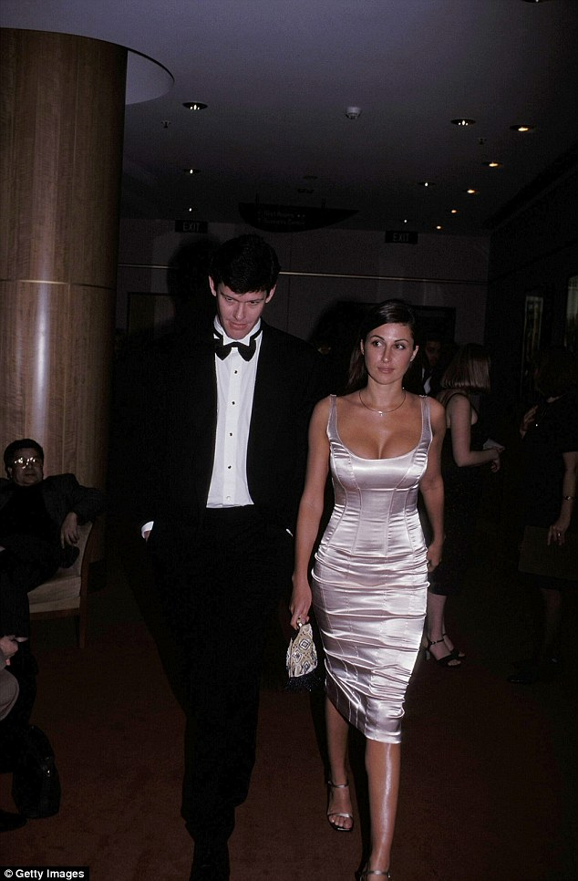 Pictured are James Packer and ex-wife Jodhi Meares arriving at a Sydney casino in 1999