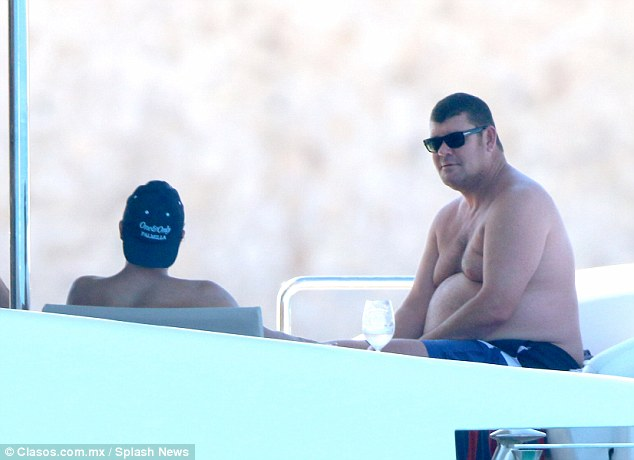 In early March the casino and media mogul (pictured, right, on a yacht in Mexico) was mentioned in an Israeli police report alleging he presented Prime Minister Benjamin Netanyahu with lavish gifts