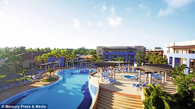 The hotel as seen on TUI's website - although Mrs Brewer said the resort looked nothing like this upon their arrival