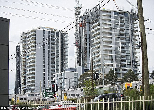 Sydney house prices have dropped by five per cent and Melbourne growth has also slowed as a result of the property bubble bursting.