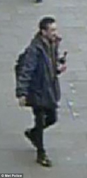 CCTV still of a man police want to trace in connection with attack