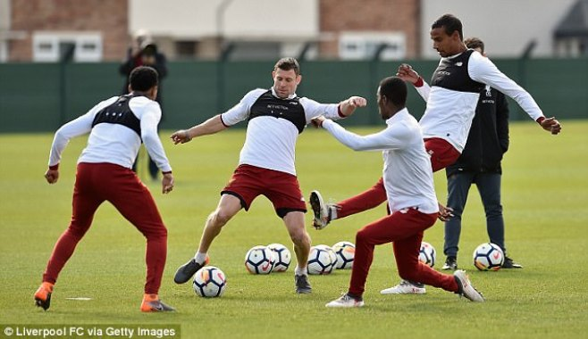 Milner, Matip, Clyne and Camacho look to impress before the international players return