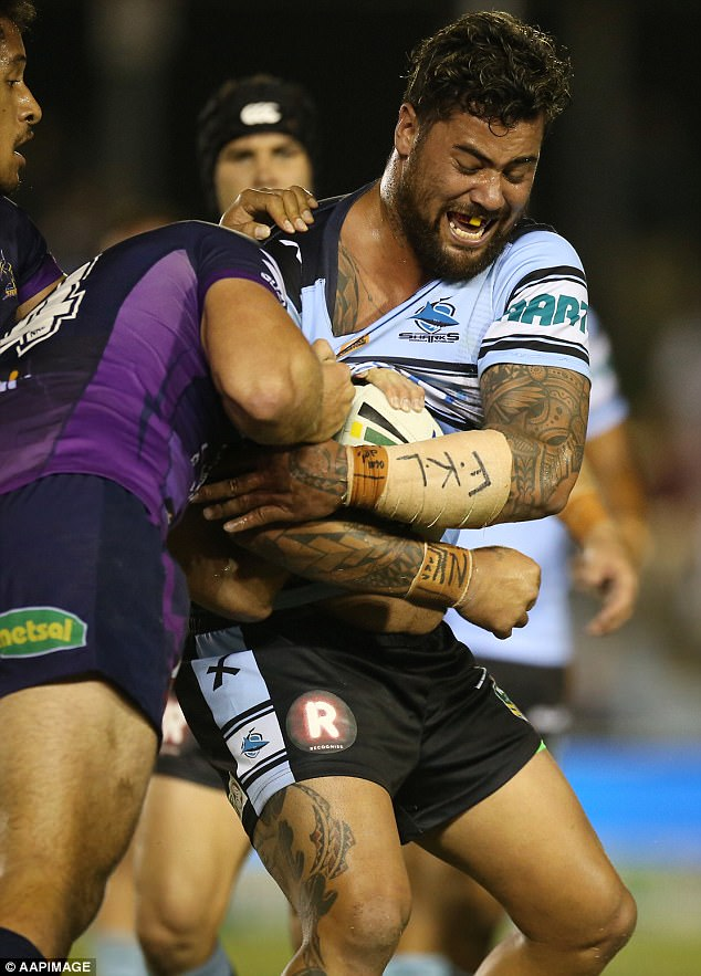 Fifita said at the time he wanted to give his close friend a morale boost while he was behind bars