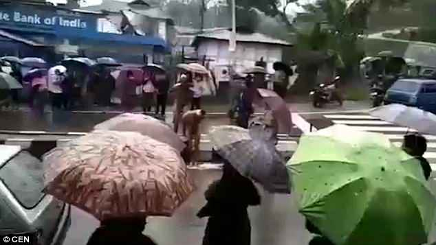 Enraged villagers in the state of Arunachal Pradesh have several times rounded up alleged rapists and humiliated them in similar fashion
