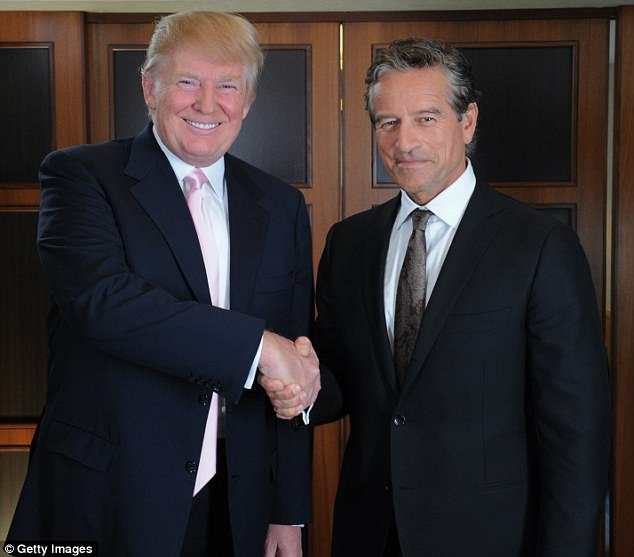 'I don't think I want to be prime minister': The Apprentice Australia host Mark Bouris rules out following in Donald Trump's footsteps by going into politics