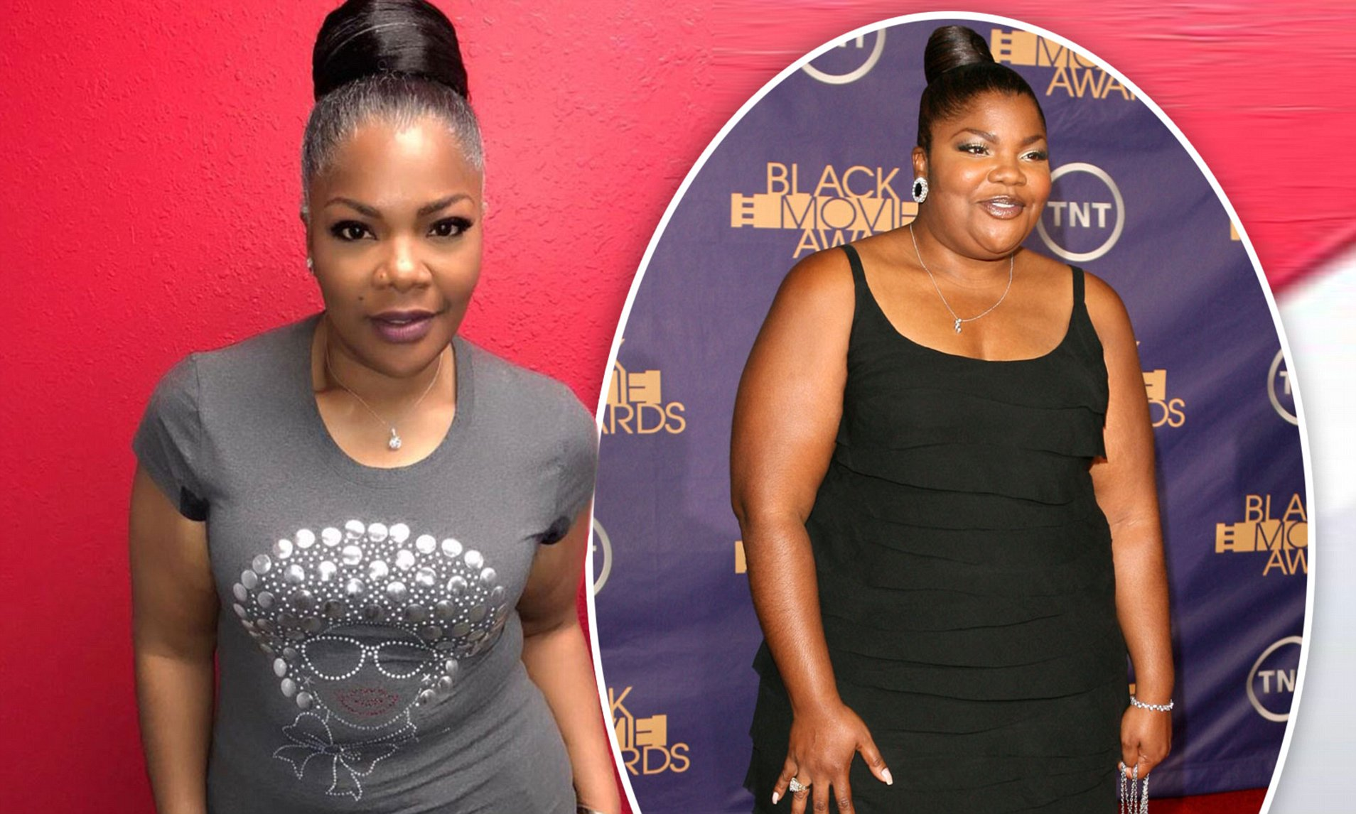 Image result for Mo'nique's Amazing 50 Lb Weight Loss: See Pics Of Her Then & Now As She Weighs Under 200 Lbs