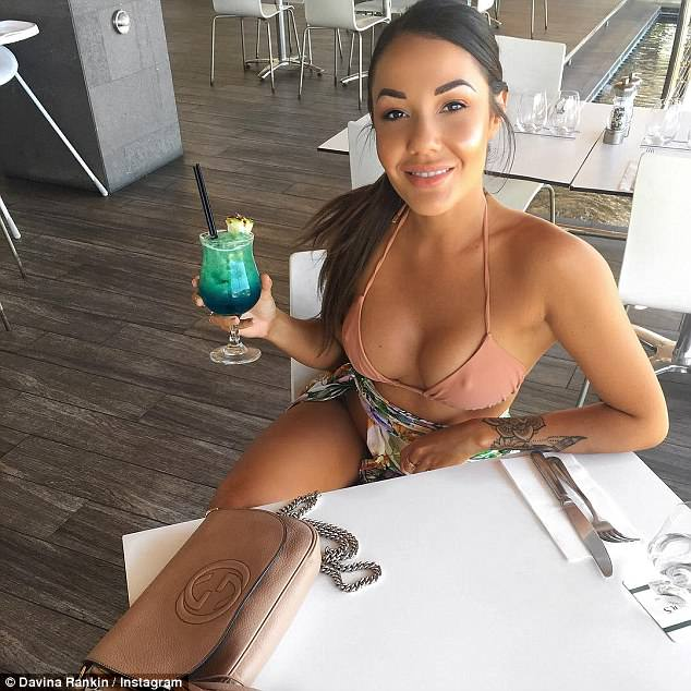 Reality TV villain: Davina had been widely criticised for plotting an 'affair' with Dean Wells while still in a relationship with Ryan Gallagher on Married At First Sight