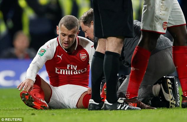 Jack Wilshere has endured much misfortune with injuries throughout his career