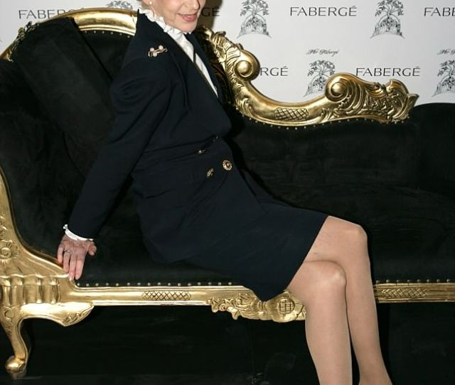 Lady Barbara Judge Attends The Launch Of The Mir Faberge Ipad Art Journal And Exhibition At
