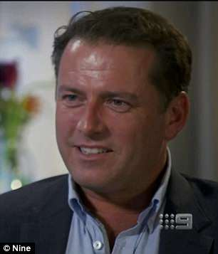 Oh dear: It comes after Karl Stefanovic was slammed after he called Kylie Minogue a 'hot 50-year-old' and told her to stop dating 'handsome d**kheads' in a bizarre 60 Minutes interview