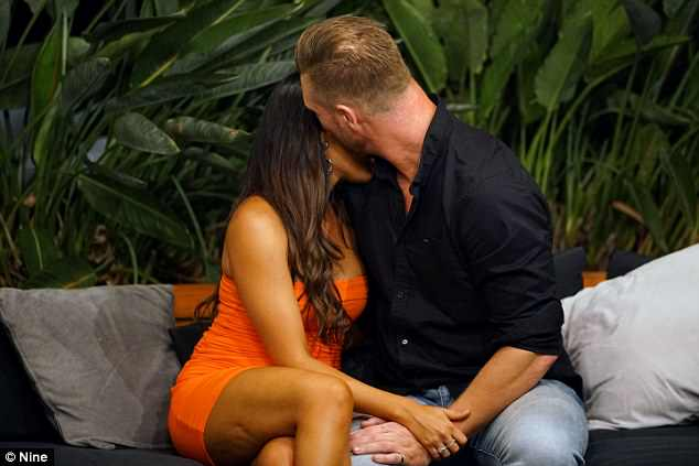 Before David, there was Dean!After being matched with hunky tradie Ryan Gallagher on theexperimental marriage show, the former model soon found herself in the arms of Dean Wells