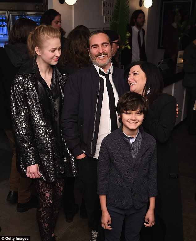Joaquin Phoenix is supported by girlfriend Rooney Mara at premiere  Daily Mail Online