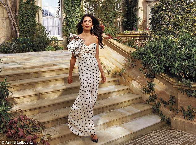 Beauty and brains: Amal revealed George wooed her with emails in the voice of his dog Einstein