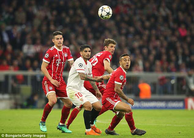 The diminutive midfielder (right) has all the attributes Guardiola wants from a midfielder