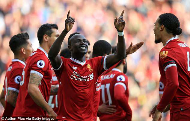 Sadio Mane revealed it was staying 'angry' which helped Liverpool beat Bournemouth 3-0