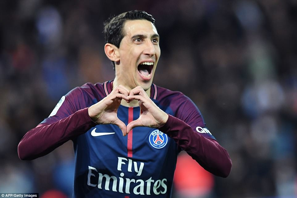 Di Maria hit a brace as PSG produced a very impressive performance to ensure that they regained the Ligue 1 title