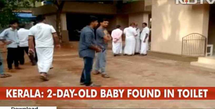 Police said the baby may have been flushed down the toilet by a mother who was visiting the clinic for a check-up