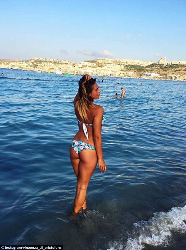 Italian flight attendant Vincenza Di Cristoforo, who is based in Malta, makes the most of her downtime when she's not flying for Ryanair