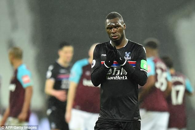 Palace striker Christian Benteke appears to be heading out of Selhurst Park this summer