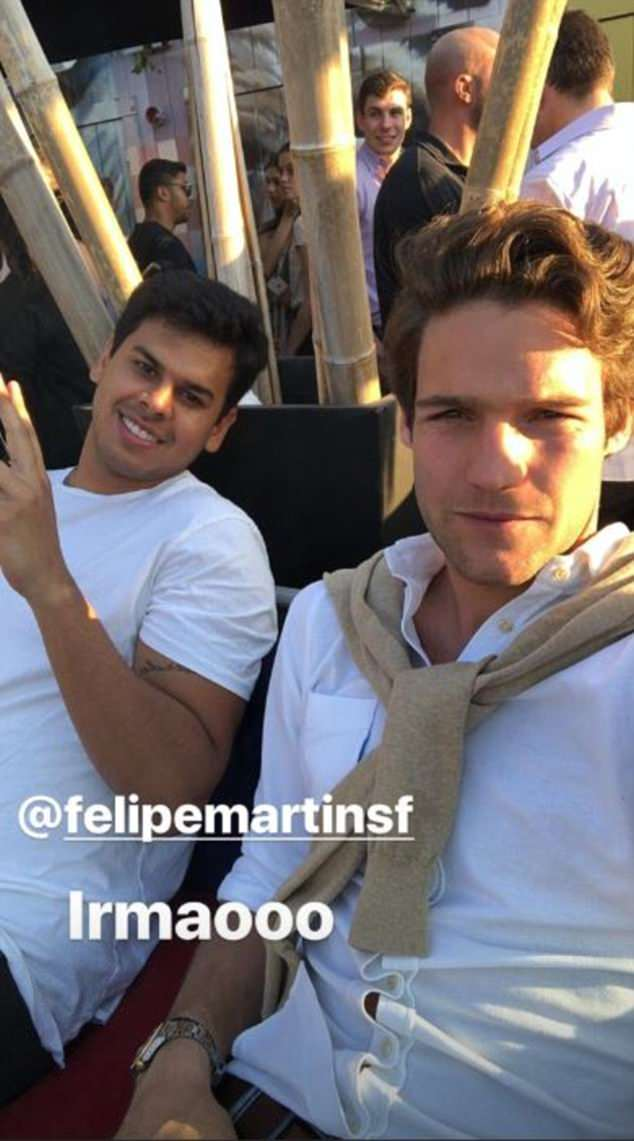 The 27-year-old Spaniard made the most of his enforced lay-off by meeting up with friends