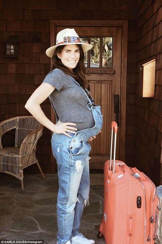Karla Souza Shares First Photo Of Her Newborn Daughter