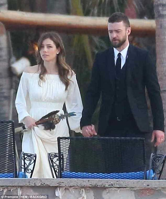 chair exercise justin timberlake ergonomic tips jessica biel attends brother s wedding with happy occasion and wife were pictured at her in
