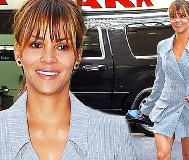 Halle Berry Looks Fabulous At The Matrix Awards In New York