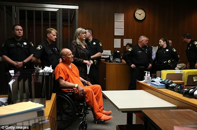 wheelchair killer folding chair beds uk golden state makes his first appearance in court frail and deangelo initially faces murder charges the slaying of a couple from rancho cordova 1978