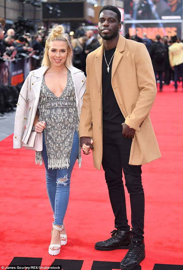 Breaking the silence:Gabby Allen has confirmed her 'tough' split from Love Island beau Marcel Somerville, and revealed she is 'in shock' from the relationship break-up