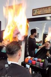 turkish barber fire cut