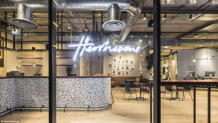The café in Hershesons' latest outpost Dubbed 'beauty superstores', super salons serve as one-stop shops for clients struggling to make the time for endless appointments in their busy lifestyles