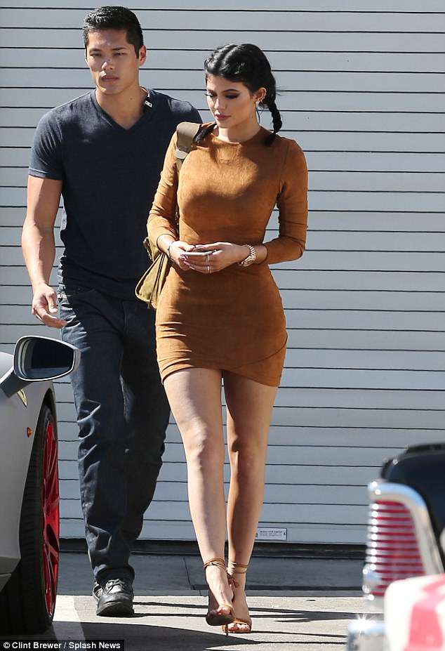 Image result for kylie jenner and tim chung