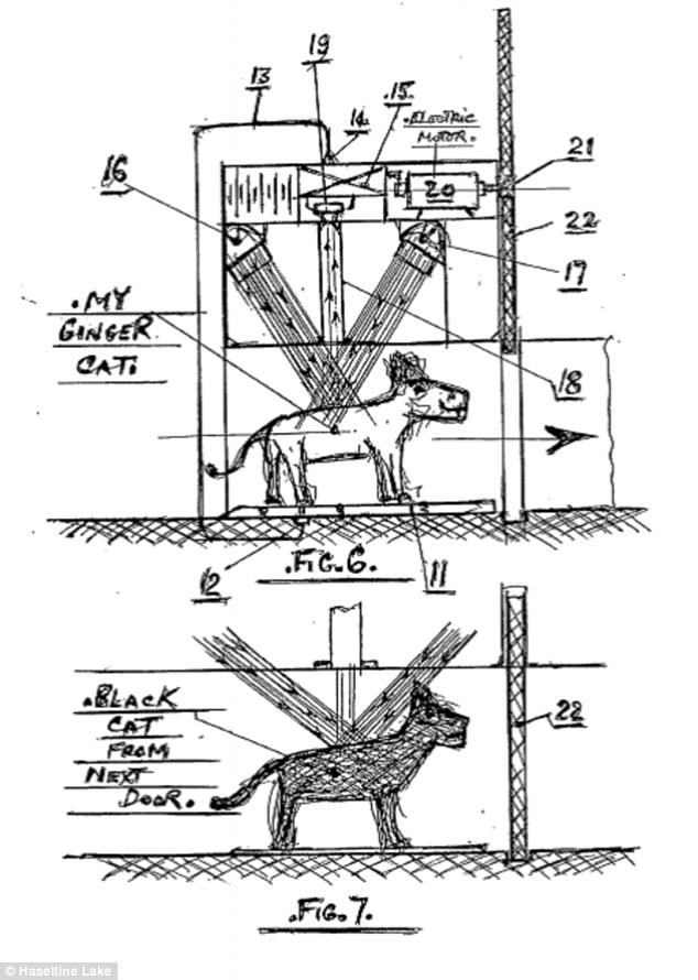 'Pet-tech' of the future? Patents reveal bizarre
