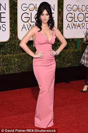 Wow-factor: Katy Perry, 33, is known for her impressive shape as well as her singing