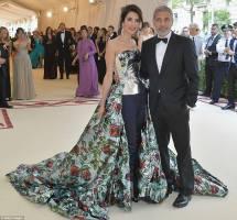 Amal Clooney After Met Gala Dress