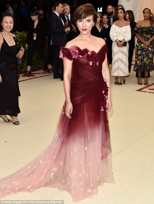 Controversy: Scarlett Johansson wore a Marchesa design to the 2018 Met Gala, becoming the first celebrity to publicly support the brand since the Harvey Weinstein abuse scandal broke
