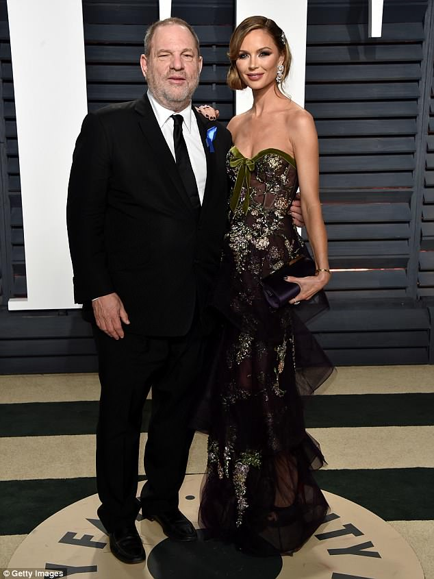 Downfall: Marchesa was founded by Weinstein's former wife Georgina Chapman the year they met - and funded by the multi-millionaire mogul for years